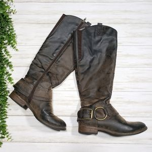 Crown Vintage Betty Riding Knee Boots